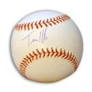 Travis Hafner Autographed MLB Baseball