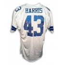 "Cliff Harris Autographed Custom Throwback Football Jersey Inscribed with ""6X Pro Bowl"" (White)"