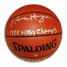 """Elvin Hayes Autographed Indoor/Outdoor Basketball Inscribed """"1978 NBA Champs"""""""