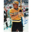 """Richie Hebner Autographed """"In The Batting Cage"""" Pittsburgh Pirates 8"""" x 10"""" Photo"""