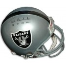 "Ted Hendricks Autographed Oakland Raiders Pro Line Full Size Helmet Inscribed with ""SB XI XV XVIII"""