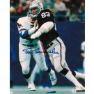 "Ted Hendricks Oakland Raiders Autographed 8"" x 10"" Unframed Photograph"