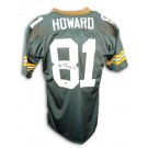 """Desmond Howard Green Bay Packers Autographed Throwback NFL Football Jersey Inscribed """"SB XXXI MVP"""" (Green)"""