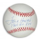 """Frank Howard Autographed MLB Baseball Inscribed with """"1960 NL ROY"""""""