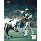 """Ron Jaworski Philadelphia Eagles Autographed """"View from the Side"""" 8"""" x 10"""" Unframed Photograph Inscribed with """"1980 NFC Champs"""""""