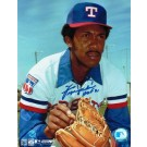 """Ferguson Jenkins Autographed """"Looking for the Sign"""" Texas Rangers 8"""" x 10"""" Photo Inscribed """"HOF 91"""""""