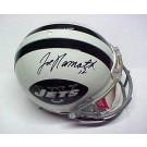 Joe Namath, New York Jets NFL Autographed Full Size Proline Helmet