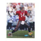 """Brad Johnson Tampa Bay Buccaneers Autographed 8"""" x 10"""" Photograph Inscribed """"SB 37 Champs"""" and """"14"""" (Unframed)"""