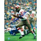 "Jimmy Johnson Autographed ""On the Run"" San Francisco 49ers 8"" x 10"" Photo"