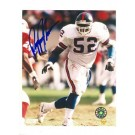 """Pepper Johnson New York Giants Autographed 8"""" x 10"""" White Jersey Photograph (Unframed)"""