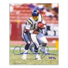 "Charlie Joiner Autographed San Diego Chargers 8"" x 10"" Photograph with ""HOF 96"" Inscription (Unframed)"