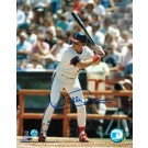 """Wally Joyner Autographed """"At the Plate"""" California Angels 8"""" x 10"""" Photo"""