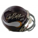 Joe Kapp Autographed Minnesota Vikings Pro Line Throwback NFL Full Size Helmet