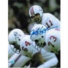 "Joe Kapp Autographed ""Calling Play"" New England Patriots 8"" x 10"" Photo"