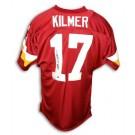 Billy Kilmer Washington Redskins Autographed Throwback NFL Football Jersey (Red)