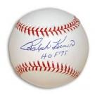 "Ralph Kiner Autographed MLB Baseball Inscribed with ""HOF 75"""