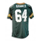 "Jerry Kramer Green Bay Packers Autographed Throwback Jersey Inscribed with ""5X NFL Champs"""