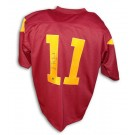 Matt Leinart Autographed USC Trojans Red Jersey