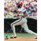 "Garry Maddox Philadelphia Phillies Autographed 8"" x 10"" Unframed Photograph Inscribed with ""1980 WSC"""