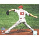 "Ryan Madson Autographed Philadelphia Phillies 8"" x 10"" Photo Inscribed ""08 WS Champs"""