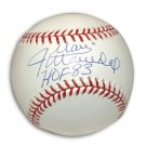 "Juan Marichal Autographed Baseball Inscribed with ""HOF 83"""