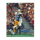 """Don Maynard New York Jets Autographed 8"""" x 10"""" Photograph Inscribed with """"HOF 87"""" (Unframed)"""