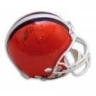 Eric Metcalf Autographed Cleveland Browns Pro Line Full Size Football Helmet