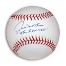 "Paul Molitor Autographed MLB Baseball Inscribed with ""The Ignitor"""