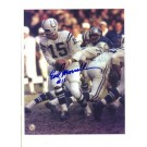 "Earl Morrall Baltimore Colts Autographed 8"" x 10"" Photograph with ""#15"" Inscription (Unframed)"