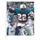 "Mercury Morris Miami Dolphins Autographed 8"" x 10"" Photograph with ""17-0"" Inscription (Unframed)"