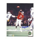 "Craig Morton Denver Broncos Autographed 8"" x 10"" Photograph with ""7"" Inscription (Unframed)"