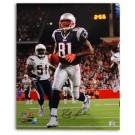 "Randy Moss New England Patriots Autographed 8"" x 10"" Photograph (Unframed)"