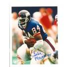 "Zeke Mowatt New York Giants Autographed 8"" x 10"" Photograph Inscribed with ""84"" (Unframed)"