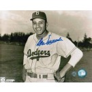 """Don Newcombe Brooklyn Dodgers Autographed Horizontal 8"""" x 10"""" Unframed Photograph"""