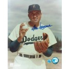 """Don Newcombe Brooklyn Dodgers Autographed Pose 8"""" x 10"""" Unframed Photograph"""