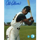 "Al Oliver Autographed ""Batting"" Pittsburgh Pirates 8"" x 10"" Photo"