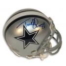 "Terrell Owens Dallas Cowboys Autographed Riddell Mini Football Helmet with ""81"" Inscription"