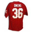 "Steve Owens Oklahoma Sooners Autographed Authentic Jersey with ""Heisman 69"" Inscription"