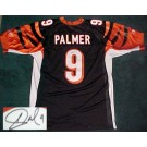 Carson Palmer Cincinnati Bengals Autographed Reebok NFL Football Jersey (Black)