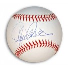 Lance Parish Autographed MLB Baseball