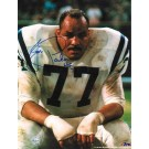 "Jim Parker Baltimore Colts Autographed 8"" x 10"" Unframed Photograph Inscribed with ""HOF 73"""