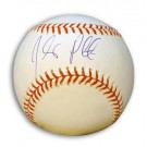 Johnny Peralta Autographed MLB Baseball