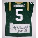 "Paul Hornung Green Bay Packers NFL Autographed Throwback Jersey Inscribed ""HOF 86"""