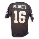 Jim Plunkett Autographed Oakland Raiders Throwback Black Jersey