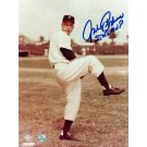 "Johnny Podres Brooklyn Dodgers Autographed 8"" x 10"" Photograph Inscribed with ""55 WS MVP"" (Unframed)"