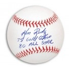 """Ken Reitz Autographed MLB Baseball Inscribed with """"75 Gold Glove"""" and """"80 All Star"""""""