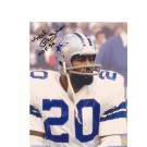 """Mel Renfro Dallas Cowboys Autographed 8"""" x 10"""" Photograph Inscribed with """"HOF 96"""" (Unframed)"""