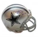 "Mel Renfro Dallas Cowboys Autographed Mini Helmet Inscribed ""HOF 96"""