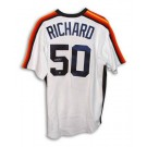 J.R. Richard Houston Astros Autographed White Majestic Jersey