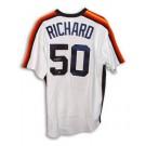 J.R. Richard Houston Astros Autographed White Majestic Jersey